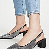 Jaggar Diamante Slingback Pumps