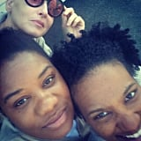 """Petty posted this to mark that """"we three Queens are #wrapped!"""""""