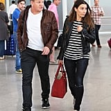 Gordon and Tana Ramsay arrived at the Marrakech airport.