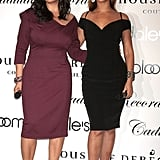 Tina and Beyoncé stepped out in style to promote their new House of Dereon collection inspired by Cadillac Records in 2008.