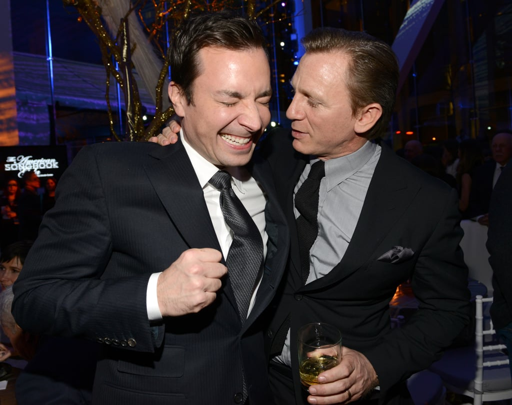 Daniel Craig joked around with Jimmy Fallon.