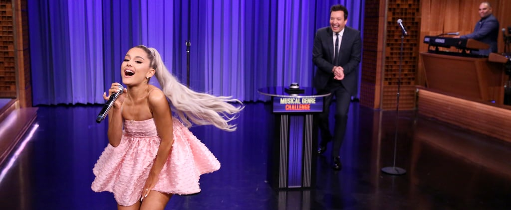 Ariana Grande Singing on The Tonight Show Videos