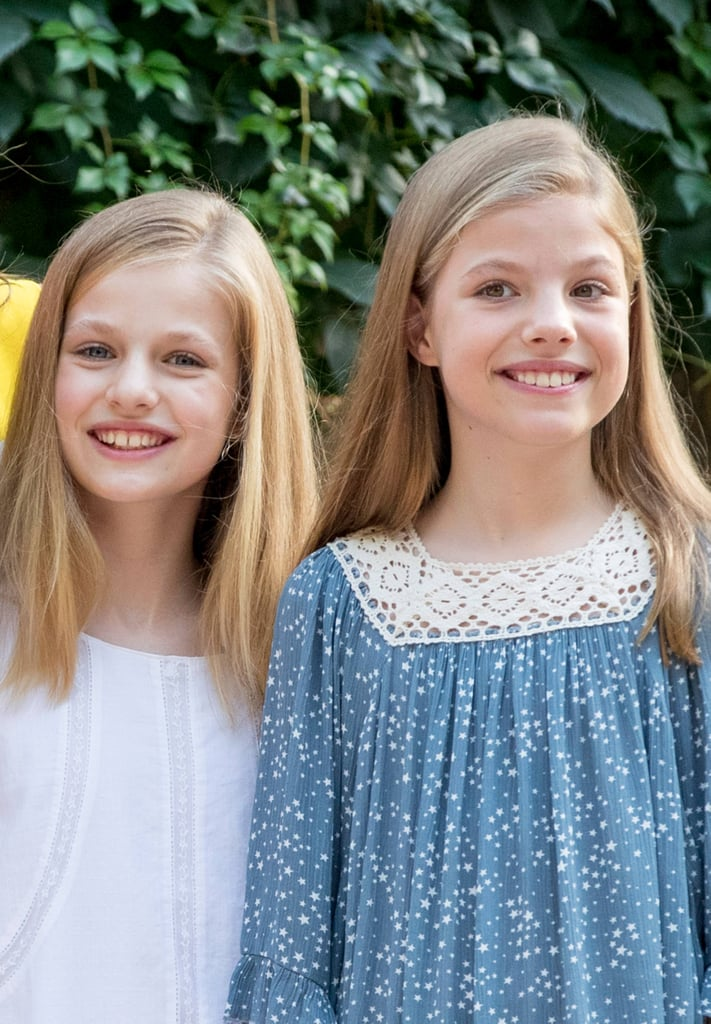 You Have to See These Adorable Photos of Princess Leonor and Infanta Sofía