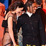 Kendall Jenner and ASAP Rocky — 2017