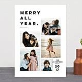 Merry All Year Card from Minted ($1-$3 per card)