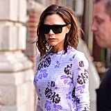Victoria Accessorized Her Look With Her Signature Dark Sunglasses