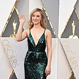 The Reason Saoirse Ronan Wore a Green Dress to the Oscars Is So Adorable