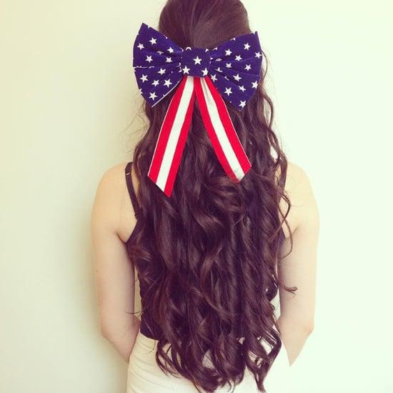 Fourth of July Hair Art