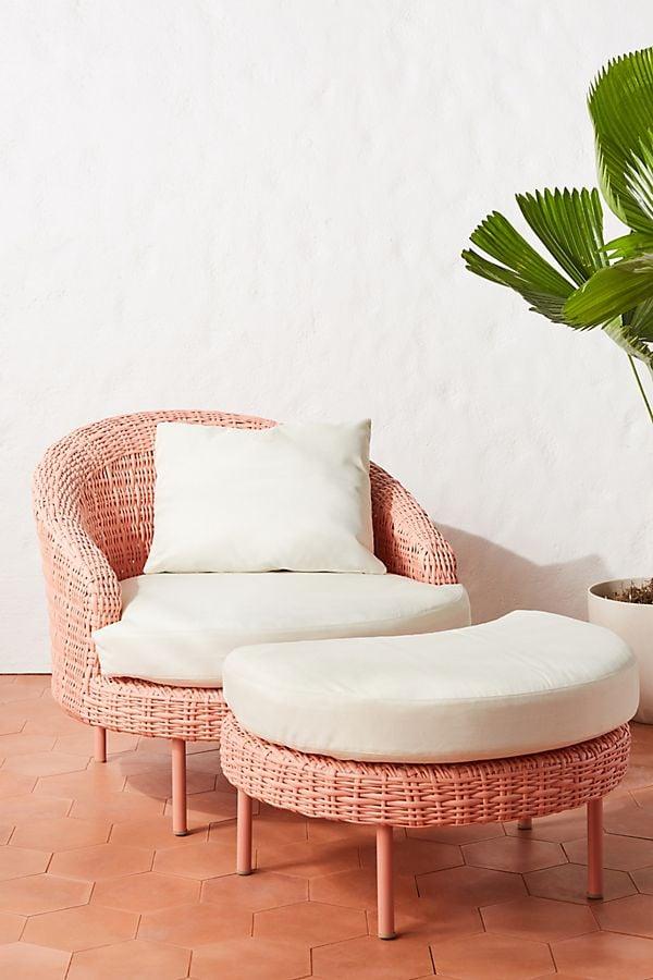 Lilith Chair & Ottoman