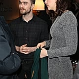 Daniel Radcliffe and His Girlfriend Are the Coziest Couple at Sundance