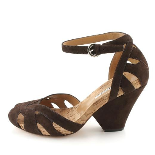 The Look for Less: Via Spiga Brown Modul Wedges