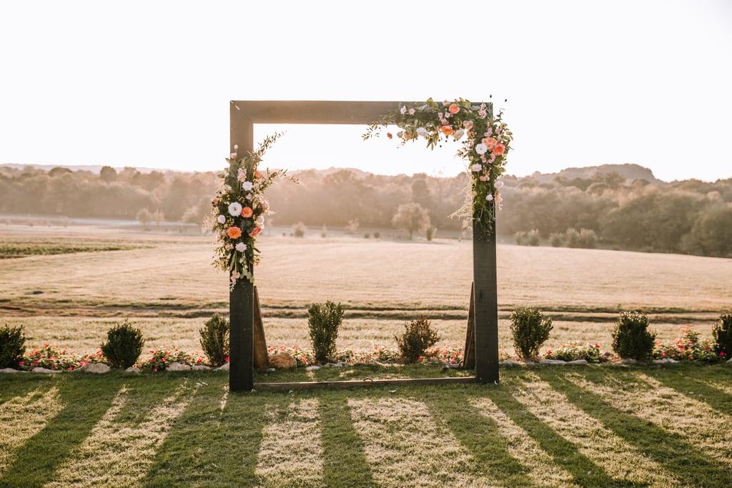 花卉仪式拱门