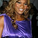 Serena Williams at the Met Gala in 2004