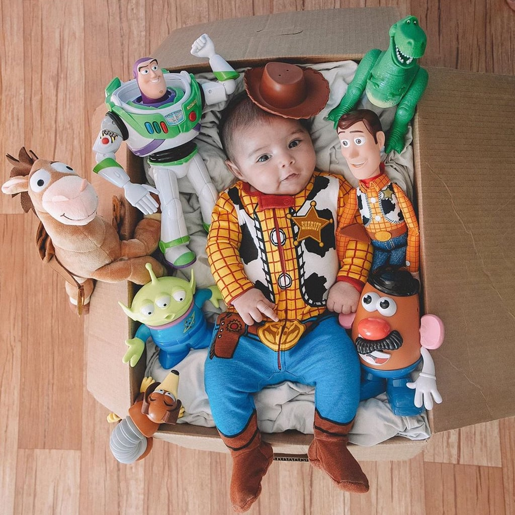 Baby S 2 Month Old Toy Story Birthday Party Popsugar Family