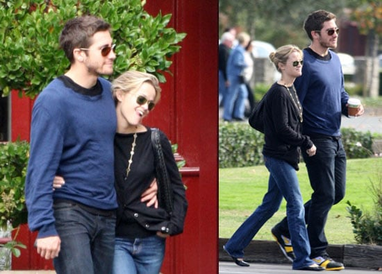 Reese Witherspoon and Jake Gyllenhaal in Napa