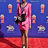 Shahadi Wright Joseph at the 2019 MTV Movie and TV Awards