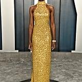 Kiki Layne at the Vanity Fair Oscars Afterparty 2020