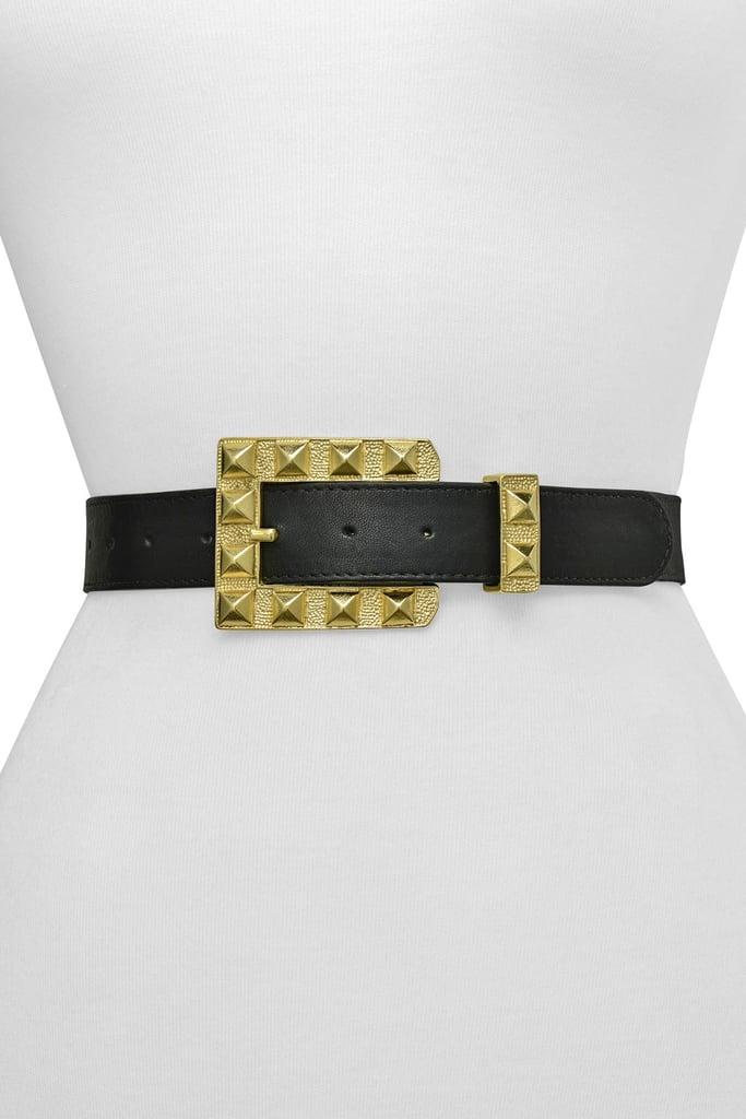Raina Belts Rai Square Buckle Belt