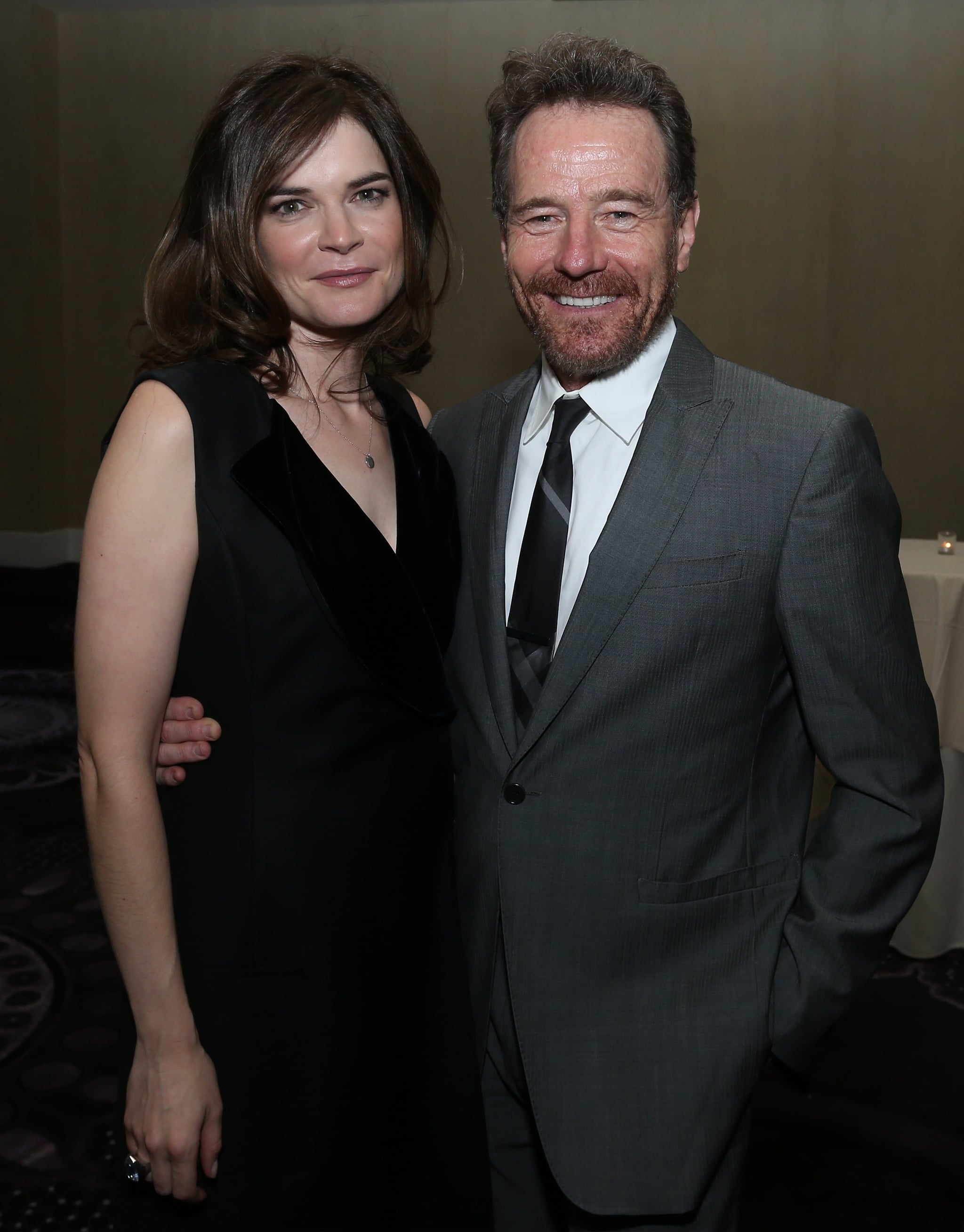 Betsy Brandt and Bryan Cranston showed they don't take the onscreen Breaking Bad drama personally.