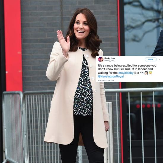 Kate Middleton's Labor Twitter Reactions