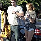 Miley and Liam stuck together.