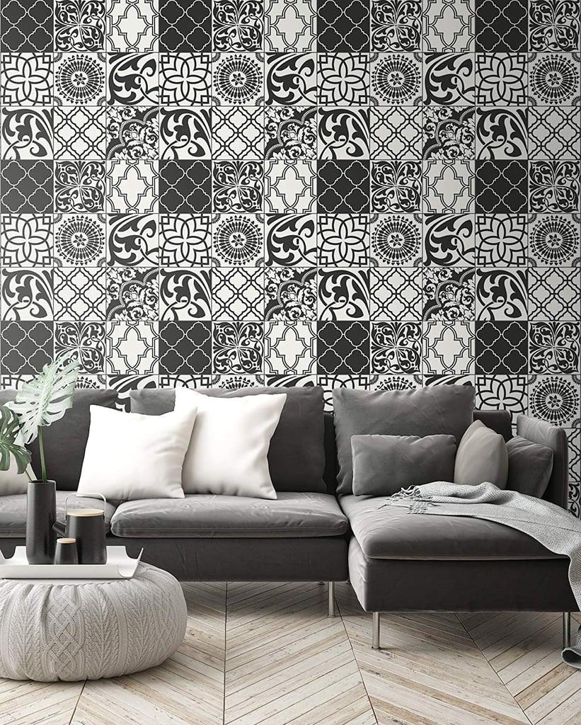 NextWall Graphic Tile Wallpaper