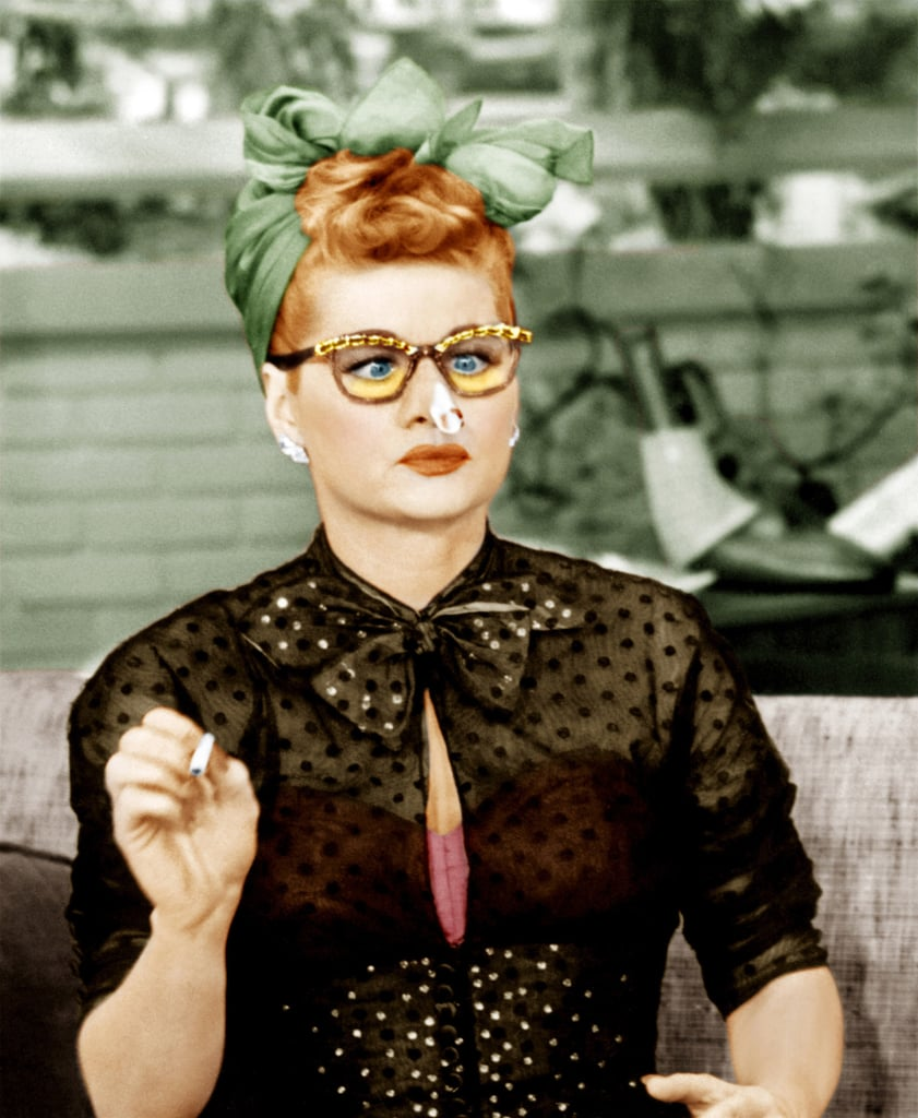 Lucille Ball's Natural Hair Colour