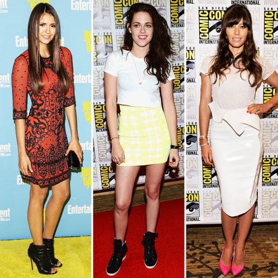 All the Celebrity Style from 2012 Comic-Con In One Place! The Best Looks from Kristen Stewart, Lea Michele, Nina Dobrev & More!