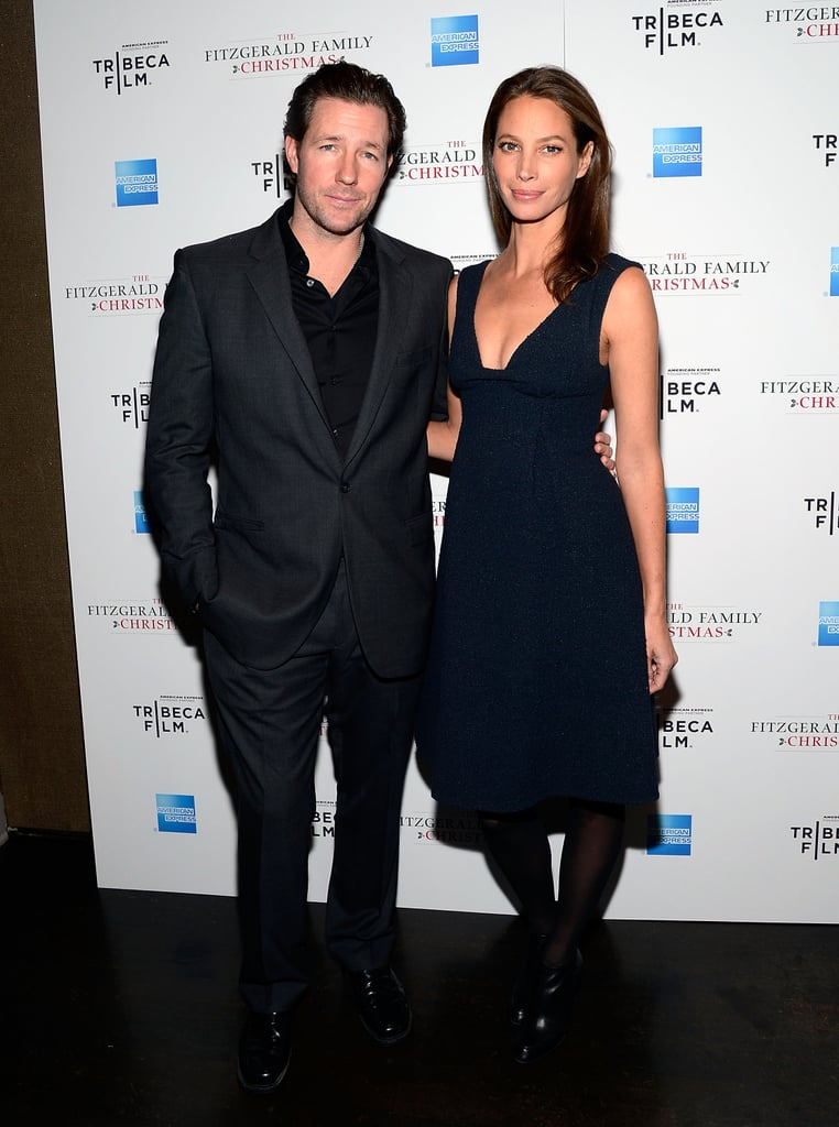 Edward Burns and Christy Turlington