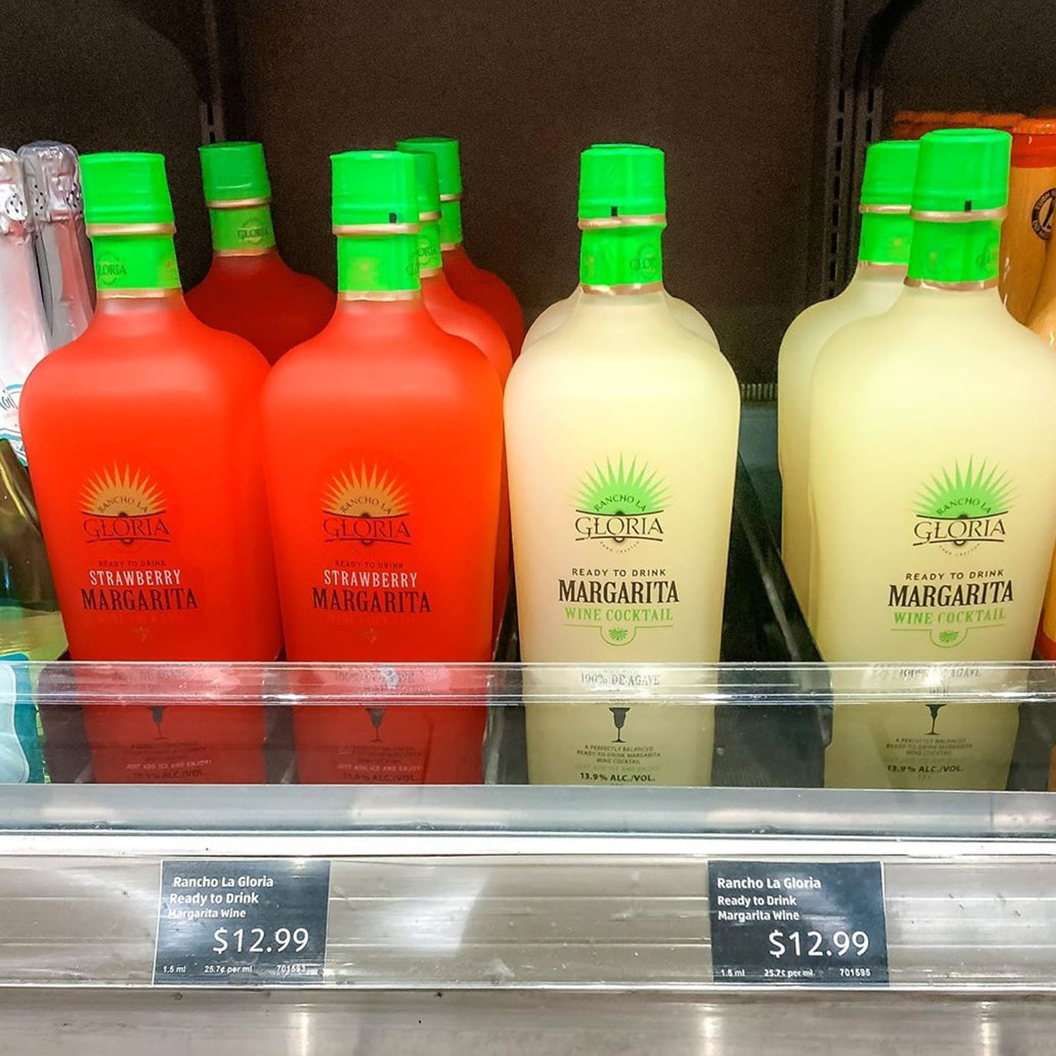 Aldi S Rancho La Gloria Strawberry And Lime Wine Margaritas Popsugar Food