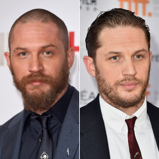 Male Celebrities With Hair vs. Shaved Heads