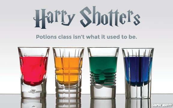 Harry Potter-Themed Shots