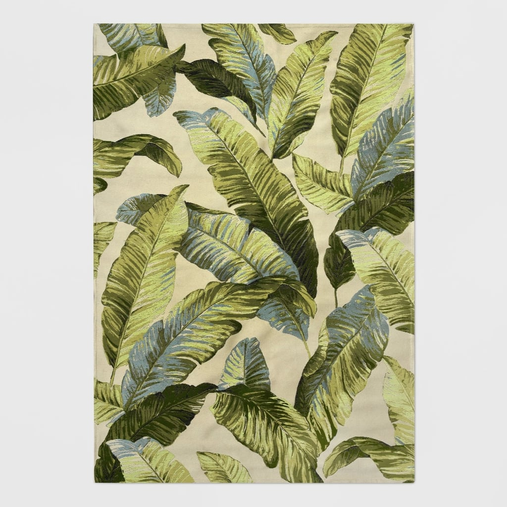 Holiday Tropical Outdoor Rug Best Patio Decor From Target