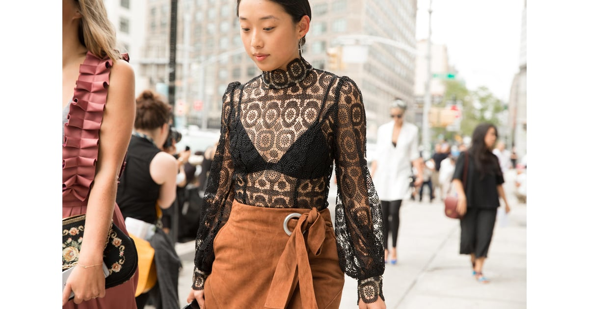 New York Fashion Week Spring 2016 Beauty Street Style