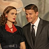 Brennan and Booth, Bones