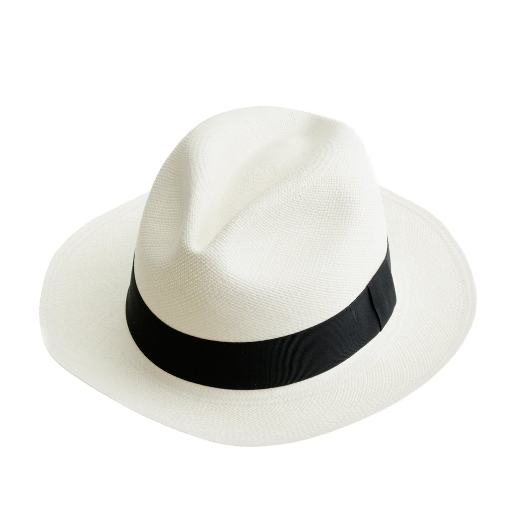 Stay stylish while you protect your face from the sun — this crisp panama hat will go with everything.  J.Crew Panama hat ($58)