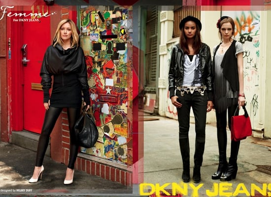 Hilary Duff for DKNY Jeans shot by The Sartorialist, Scott Schuman