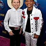 Mason Ramsey and Lonnie Chavis