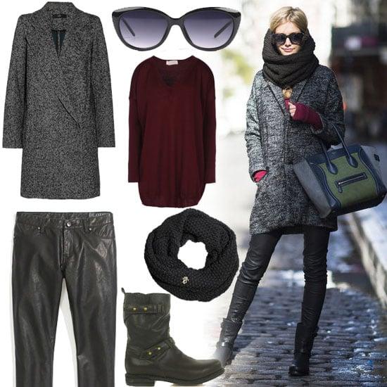 Cute Winter Street Style 2012
