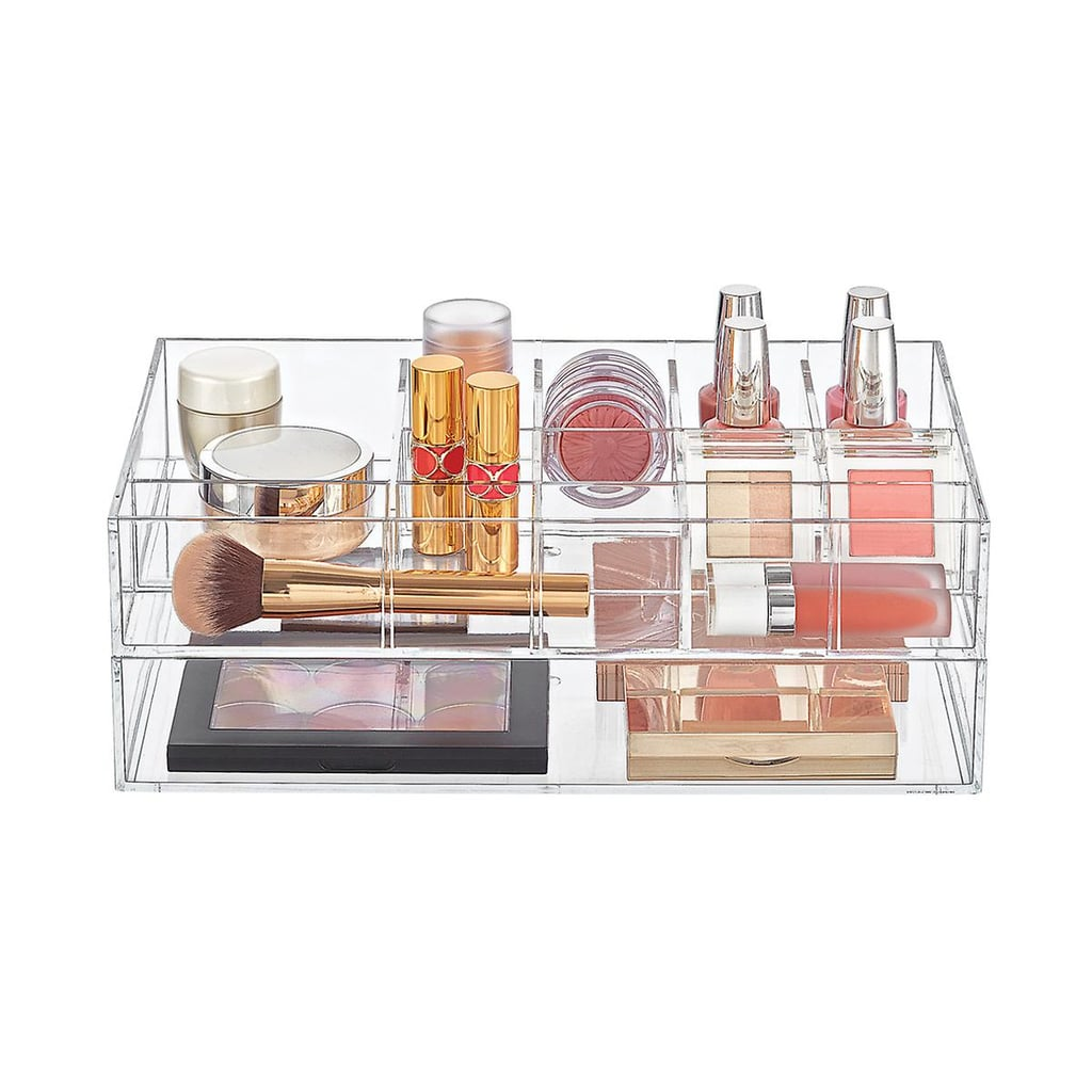 Clear Acrylic Makeup & Nail Polish Storage Starter Kit | Makeup ...