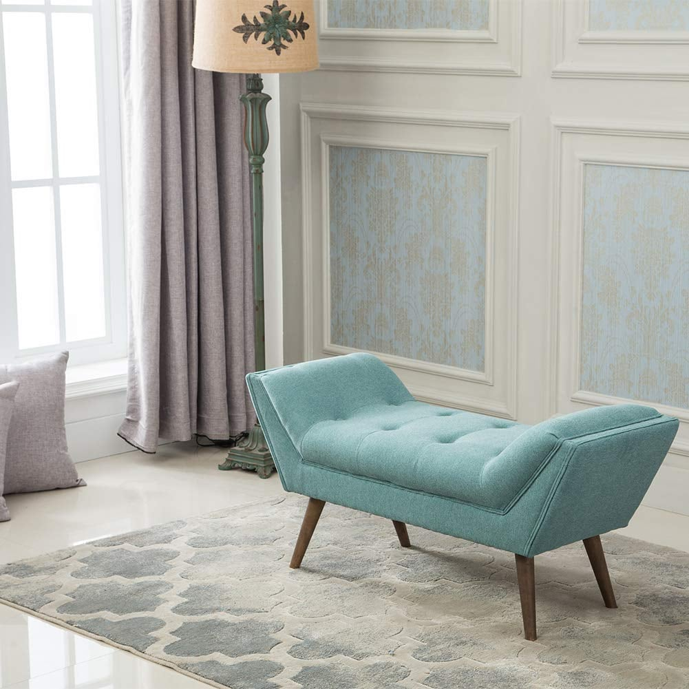 Upholstered Bench With Arm