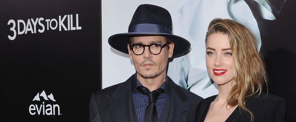 """Johnny Depp Finally Talks Amber: """"She's Good For Me"""""""
