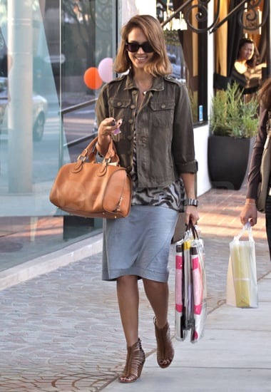 Pictures of Jessica Alba Shopping at Bel_Bambini in LA