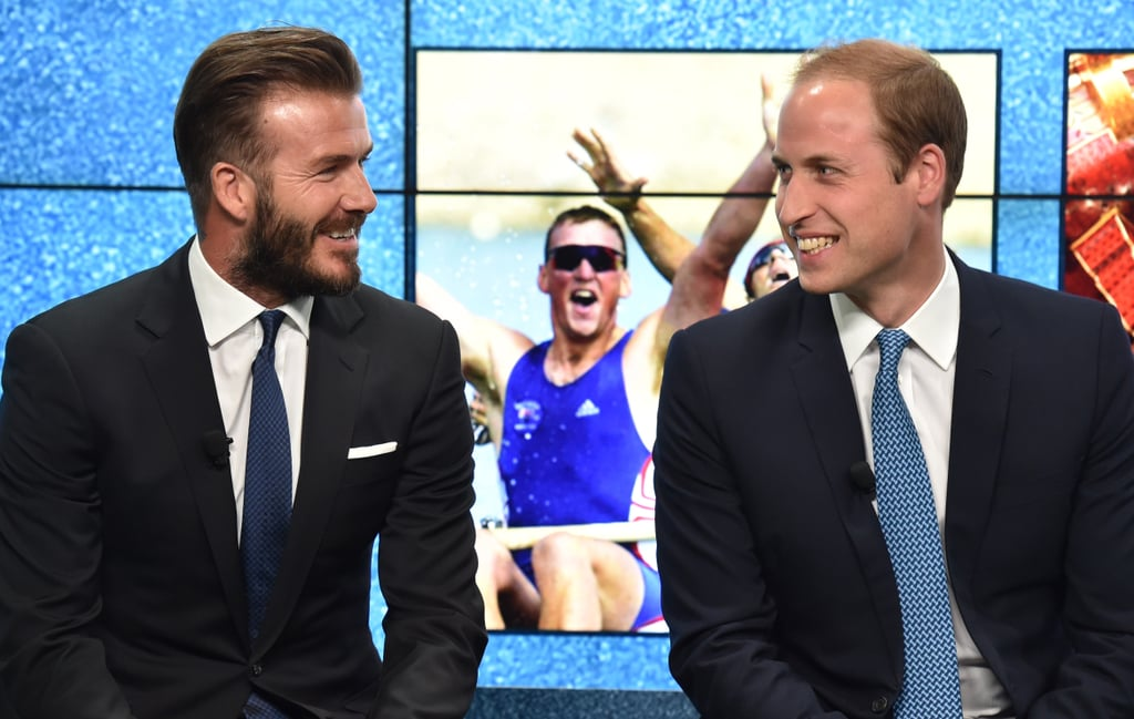 William and David Beckham