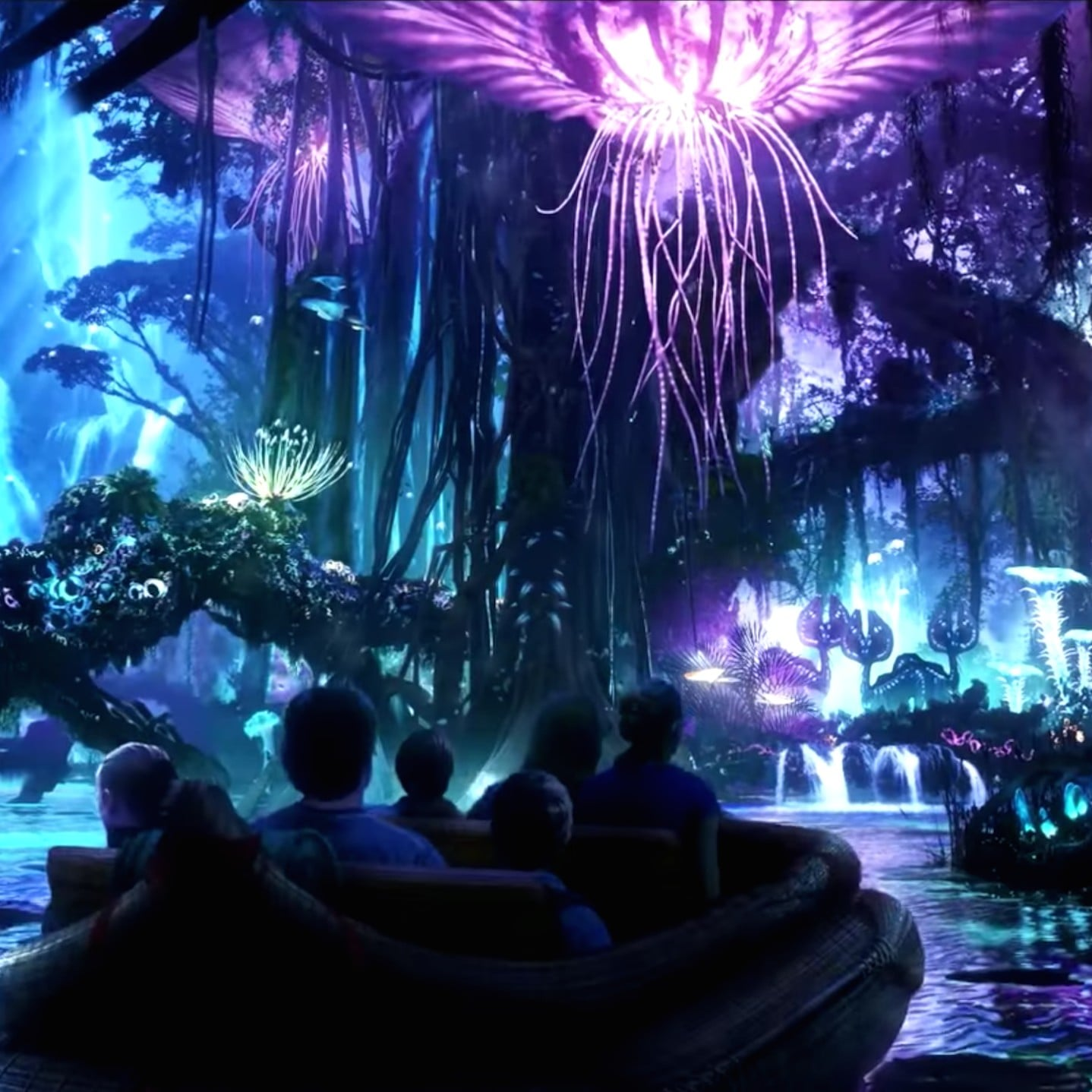 Pandora Avatar Land In Disneys Animal Kingdom