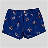 Beauty & The Beast Girls' Beauty and the Beast Woven Shorts Navy ($15)