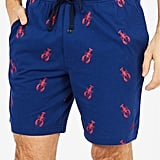 Nautica Lobster Print Cotton Pajama Shorts