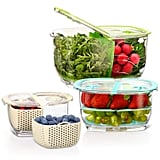 LUXEAR Produce Saver Veggie Fruit Storage Containers