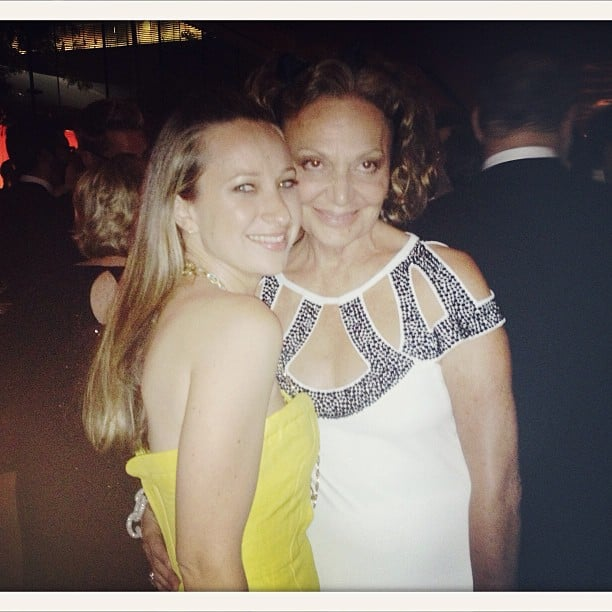 Jennifer Meyer hung out with Diane von Furstenberg at the CFDA Fashion Awards. Source: Instagram user jenmeyerjewelry