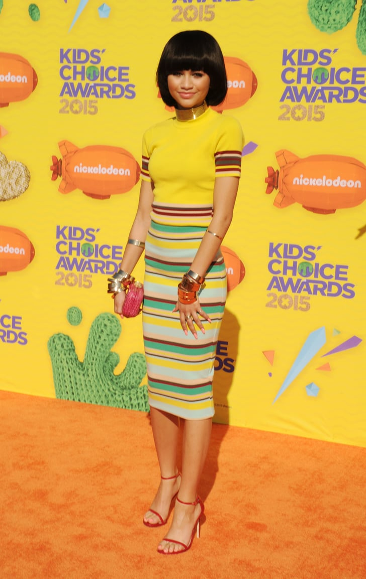 Zendaya Chose A Bold Red Design From The Shoe Label For